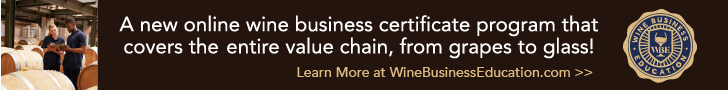 Online Wine Business Certificate Program
